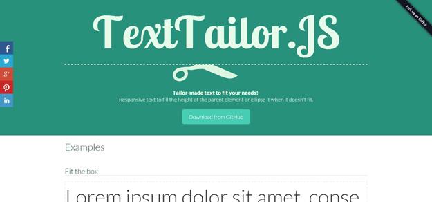 texttailorjs 10 effetti di testo in jQuery per i vostri siti web