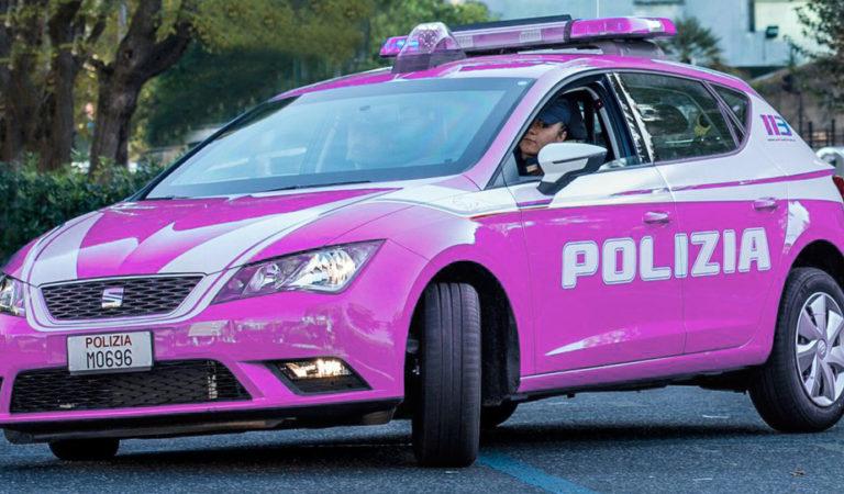 Polizia fucsia per un errore di Pantone!