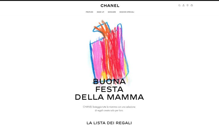 Chanel e la festa della mamma, quando il design emoziona!