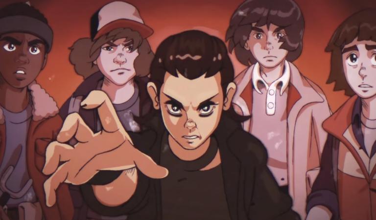 se Stranger Things fosse un anime degli anni '80