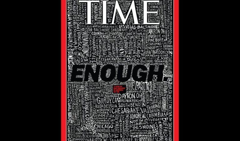Time Magazine e la sua copertina sulle sparatorie di massa