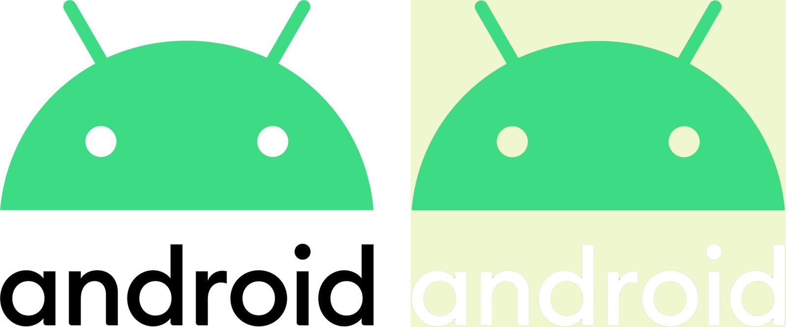 logo-with-head-white-black Il nuovo rebrand di android