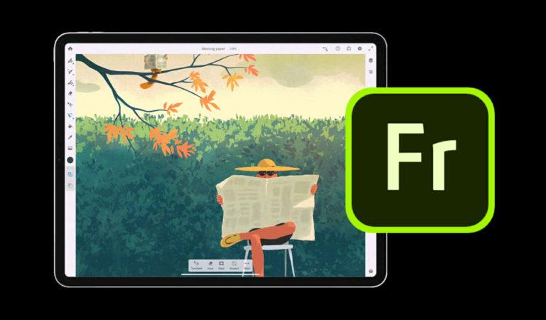 Adobe Fresco, la nuova app di disegno e pittura è disponibile per il download su iPad!