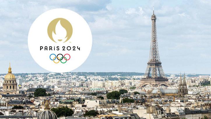Il logo delle Olimpiadi di Parigi del 2024 raffigura Marianne, la fiamma olimpica, e una medaglia d'oro.