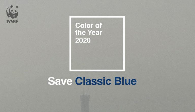 SaveClassicBlue – WWF vs PANTONE