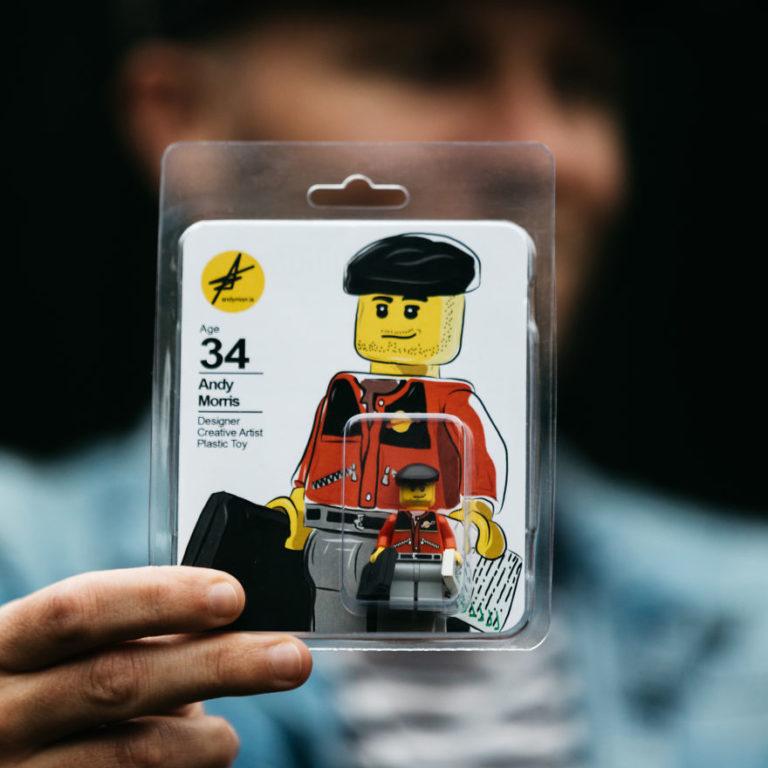 Questo designer ha creato una versione di Lego di se stesso per trovare il lavoro dei suoi sogni
