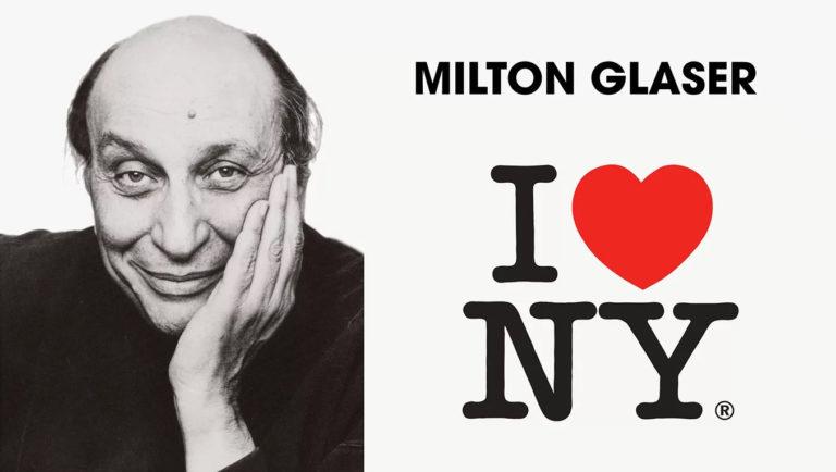 """è morto Milton Glaser il papà del logo """"I Love New York"""""""