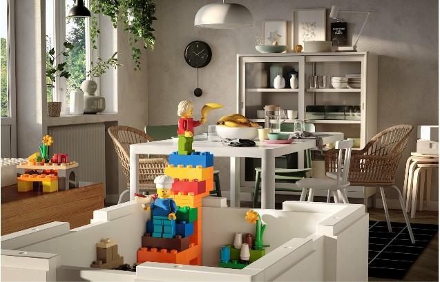 Bygglek ovvero lego + ikea