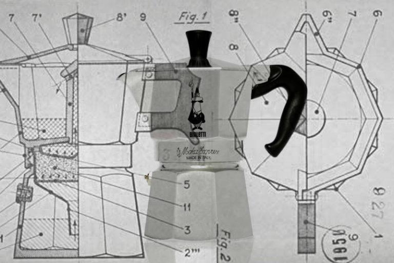 Ci vediamo al bar! la storia del moka bialetti e del suo design!