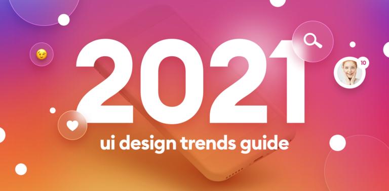10 UI trend per il 2021
