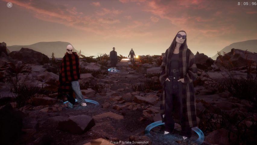 Balenciaga presenta la collezione di moda Autunno 2021 sotto forma di videogioco Afterworld: The Age of Tomorrow