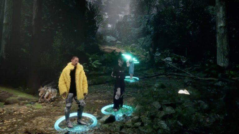 Balenciaga porta la sua sfilata di moda in un videogioco