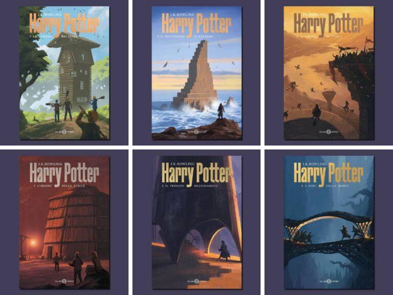 Le nuove tutte italiane di Harry Potter