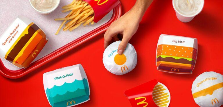 I nuovi pack di McDonald's