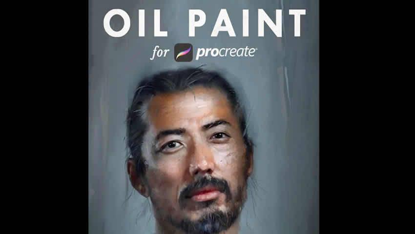 Pennelli Procreate per pittura a olio