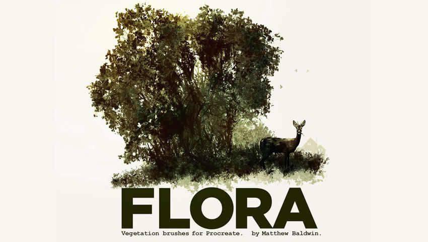 Pennelli Flora Vegetation per Procreate