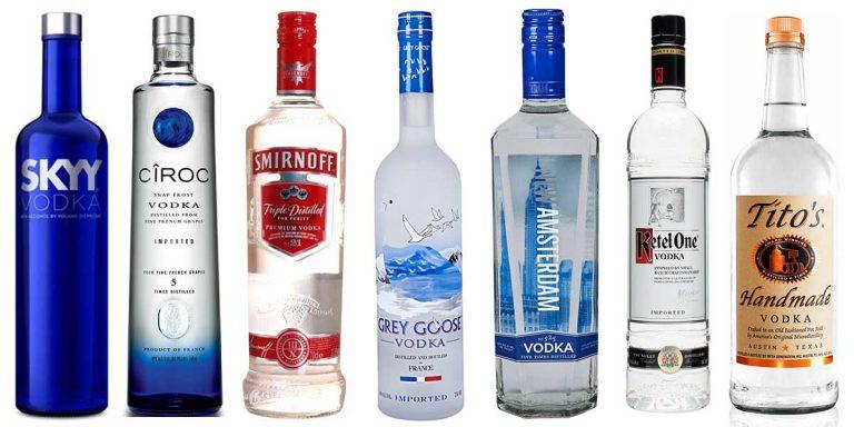 20 bottiglie di vodka dal design pazzesco