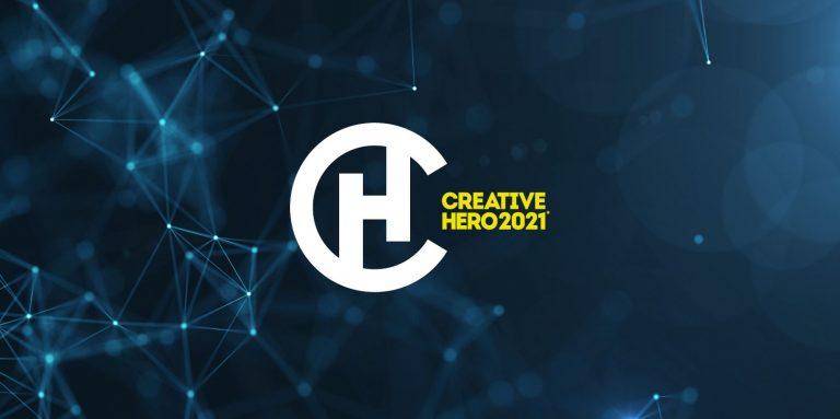 """COMUCNICATO STAMPA: STUDENTI DI GRAFICA IN GARA PER CONTENDERSI IL TITOLO DI """"CREATIVE HERO 2021"""""""